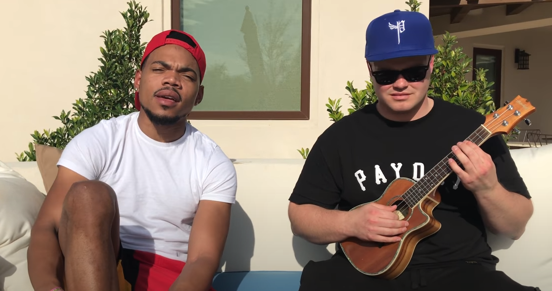 Check Out The Dude Shredding On Ukulele With All Your Favourite Rappers