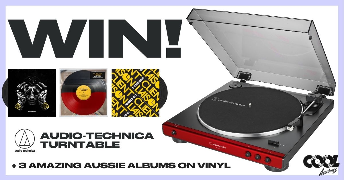 WIN An Audio-Technica Record Player & 3 Amazing Vinyl Records