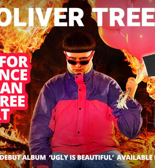Win One Of Six Oliver Tree T-Shirts