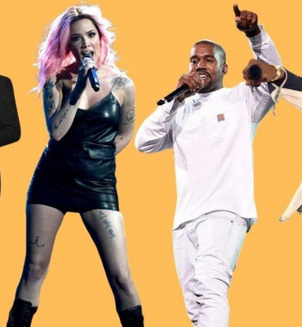 Daft Punk, Halsey, Kanye West and Lil Nas X