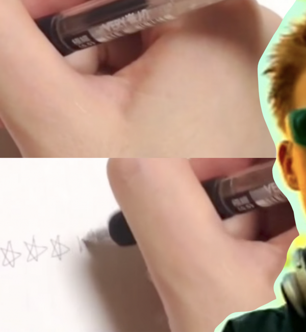 Here's Someone Playing Darude's 'Sandstorm' Using Only A Pen And Paper
